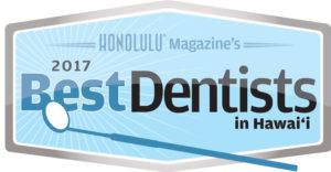 Honolulu Magazine's 2017 Best Dentists in Hawaii