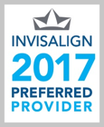 Invisalign 2017 Preferred Provider seal
