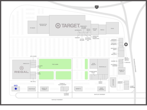 Kapolei Commons map